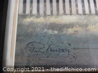 """12""""X 15"""" Framed Signed Art"""