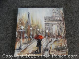 """Painting On Canvas 12"""" x 12"""""""