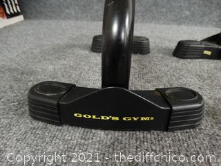 Golds Gym Workout Bars