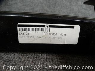 Toyota Tacoma 4wd Base Plate