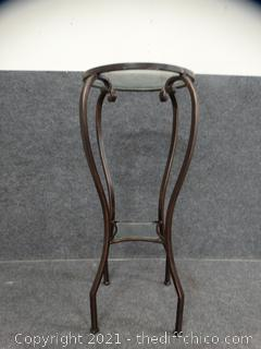 Decorative Wrought iron  Table With 2 glass pieces