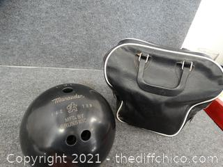 Bowling Ball In Bag unknown weight