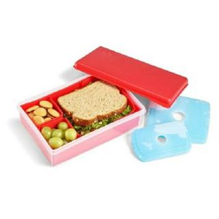 NEW Fit & Fresh Multi Flex Bento with 2 Ice Packs - Red