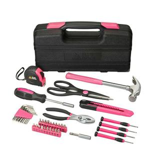 Blue Ridge Pink Household Tool Kit 40 Pieces