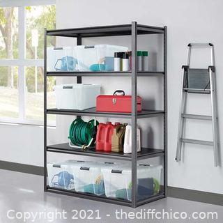 WHALEN 5 Industrial Strength Shelf Storage Rack