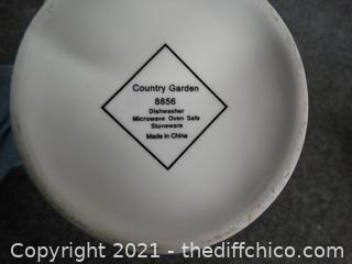 Country Garden Tea Pot 8856