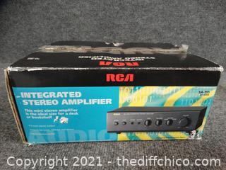 RCA Mini Stereo Amplifier