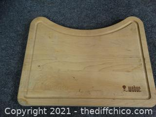Weber Wood Cutting Board