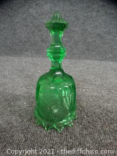 Green Glass Bell