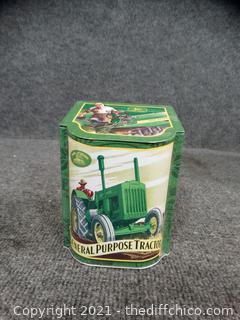 John Deere Green Tin