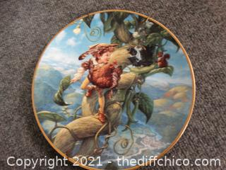 Jack & The Beanstalk Numbered Plate