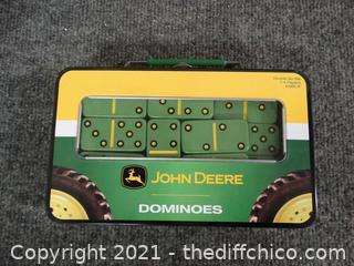 John Deere Green Dominoes