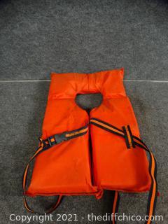 Orange Life Vest