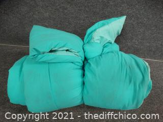 Teal Comforter