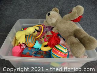 Tub Of Toys