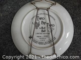 Two By Two Numbered Plate