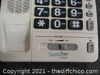 Crystal Tone Phone