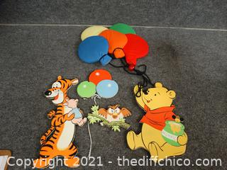 Winnie The Pooh Wall Decor