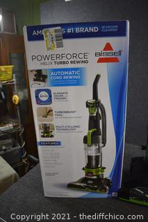 Working Bissell Powerforce Vacuum Cleaner w/box