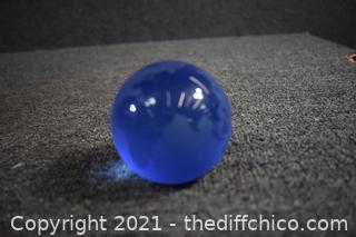 Cobalt Blue Paperweight