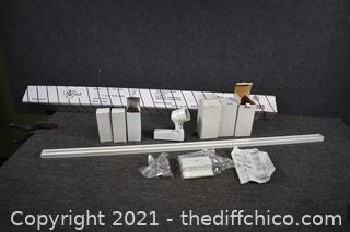 6 - New White Tracking Lights