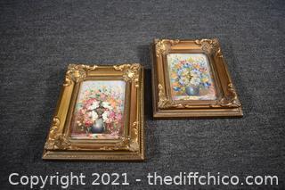 Pair of Framed Orginial Oils