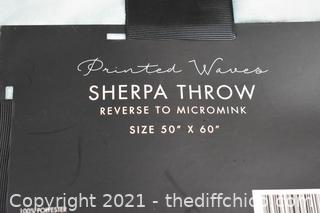 Sherpa Throw 50in x 60in