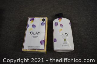 Olay Beauty Bars and Olay Body Wash