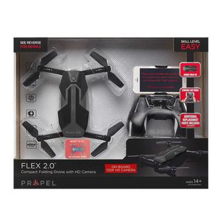 Propel Flex 2.0 Compact Folding Drone W/ HD Camera & Remote W/ Phone Holder NEW