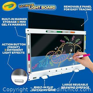 "Crayola Ultimate Light Board 11.5"" x 18"""