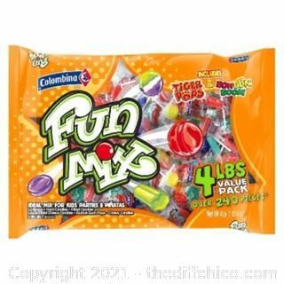 SweetGourmet Colombina Fun Mix Candy - Kids Parties & Pinatas- 4Lb