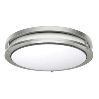 """NEW Energetic Lighting 14"""" LED Flush Mount 24W 50K Hours 1560 Lumens Dimmable"""
