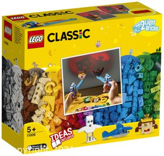 NEW Lego Classic Bricks and Lights Building Toy (11009) 441 Pieces Ideas Included