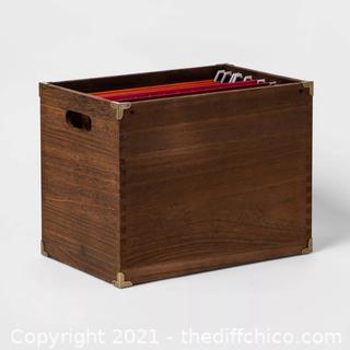 Wood File Holder - Threshold™