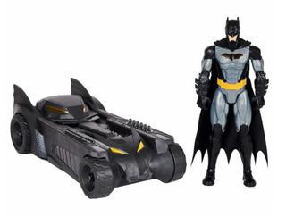 "Batmobile & Tactical Batman - Big Toy for Big Boys and Kids - Fits 12"" DC Figure"