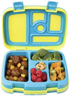 Bentgo Kids Bento Lunch Box, Leakproof Food Snack Container - Dishwasher Safe