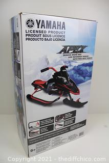 ($189) Yamaha Viper Kids Youth Snow Bike - Red/Black - NEW