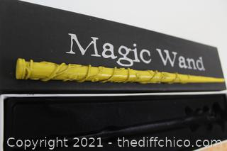 Harry Potter Yellow Magic Wand Cosplay Costume LARP