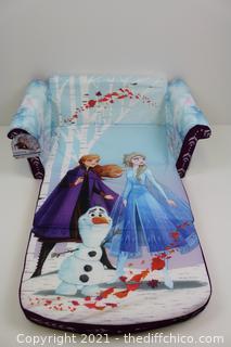 HARD TO FIND NEW Marshmallow Furniture Frozen 2 Kids' 2-in-1 Flip Open Foam Sofa