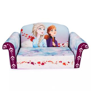 HARD TO FIND NEW Marshmallow Furniture Frozen 2 Kids' 2-in-1 Flip Open Foam Sofa