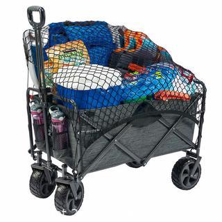 ($79.99) X-LARGE Mac Sports Folding Wagon with Cargo Net