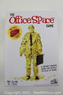The Office Space Game - A Secret Mission Game For People To Play At Work - New