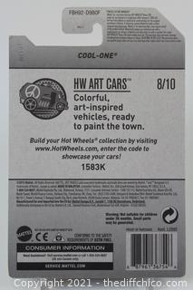 2015 Hot Wheels KMART EXCLUSIVE HW Art Cars Cool-One 8/10