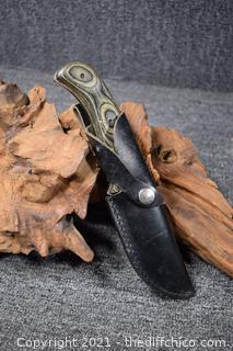 Cabela's Outfitter Knife w/sheath