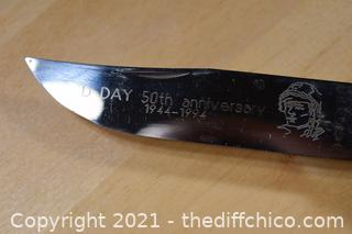 D Day 1944-1994 50th Anniversary Knife