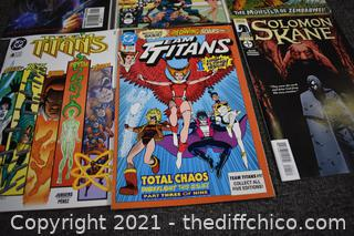 9 Collectible Comic Books