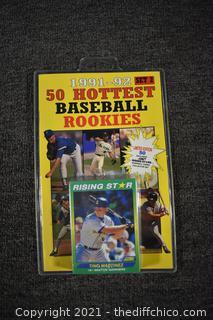 1991-92 Baseball Rookies Set#2