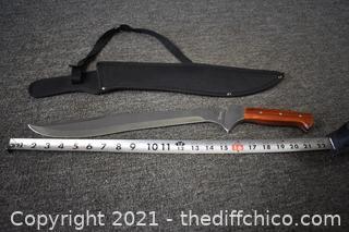 Tomahawk Knife w/sheath