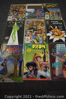 9 Animated Comic Books
