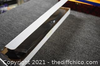 New Shinwa Sword w/cover, stand and box